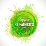 Lyckligt Sts Patrick begrepp för dagberöm Royaltyfria Bilder