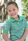 lyckligt sunt för pojke Royaltyfri Foto