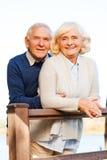 lyckligt tillsammans Fotografering för Bildbyråer