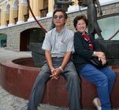 lyckligt tillsammans Royaltyfri Bild