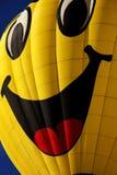 lyckligt varmt för luftballongframsida Arkivfoto