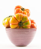 Lycopersicum tomatoes - composition in a cup Royalty Free Stock Image
