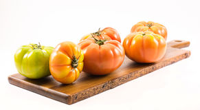 Lycopersicum tomatoes - composition Royalty Free Stock Photography