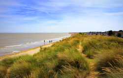 Lydd-on-Sea beach England United Kingdom Stock Photography