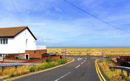 Lydd-on-Sea view England United Kingdom Royalty Free Stock Image