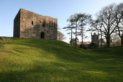 Lydford Schloss Stockfoto