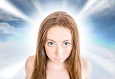 Lydia Fantasy portrait Stock Images