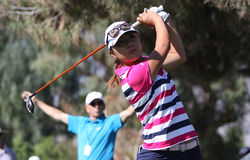 Lydia Ko at the ANA inspiration golf tournament 2015 Stock Photography