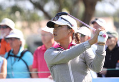Lydia Ko at the ANA inspiration golf tournament 2015 Royalty Free Stock Image
