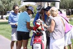 Lydia Ko en el torneo 2015 del golf de la inspiración de la ANECDOTARIO foto de archivo libre de regalías