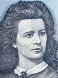 Lydia Koidula portrait Stock Photo