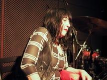 Lydia Lunch koncert w Turyn Obraz Royalty Free