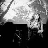 Lydia Lunch koncert w Turyn Obraz Stock