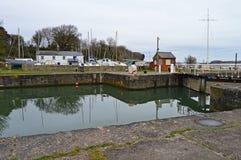 Lydney Docks - Historic Harbour Stock Photo