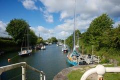 Lydney-Hafen Gloucestershire Lizenzfreies Stockbild