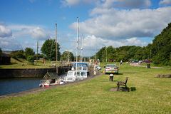 Lydney Harbour Gloucestershire Royalty Free Stock Photos