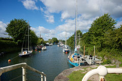 Lydney Harbour Gloucestershire Royalty Free Stock Image