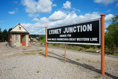 Lydney Junction Station Gloucestershire UK royalty free stock photos