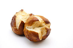 Lye bread rolls Stock Photo