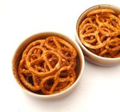 Lye pretzels Royalty Free Stock Images