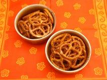 Lye pretzels Royalty Free Stock Photo