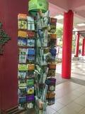 Lyers et brochures sur l'intérieur disponible Masjid Muhammadiah, Ipoh, Perak de l'Islam librement photographie stock