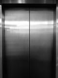 Lyft dörrar Dörrar av hissen Royaltyfri Fotografi