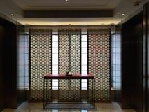 lyft lobbyen Royaltyfri Fotografi