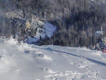 lyft skidar Arkivbild