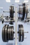 lyftande muskulös vektorvikt för man Arkivbild