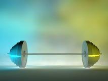 lyftande stål 3d Arkivbild