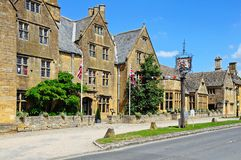 Lygon Arms Hotel, Broadway. Royalty Free Stock Photos