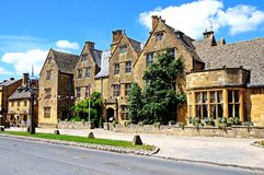 Lygon Arms Hotel, Broadway. Stock Images