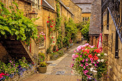 Lygon Arms Hotel. In the town of Chipping Camden in the Cotswolds,  England Royalty Free Stock Images