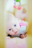 Lying Baby Stock Photo