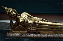 Lying buddha Stock Photos