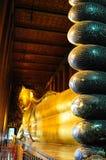 Lying buddha royalty free stock image
