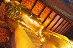 Lying Buddha Stock Photo