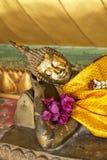Lying Buddha Stock Photography