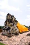 Lying buddha Royalty Free Stock Photo