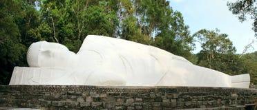 Lying Buddha statue Stock Image