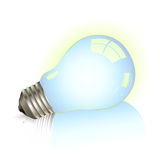 Lying bulb Royalty Free Stock Photo