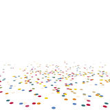 Lying confetti Royalty Free Stock Photography