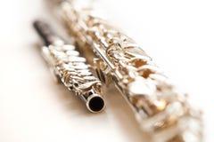 Lying flute closeup Stock Photography