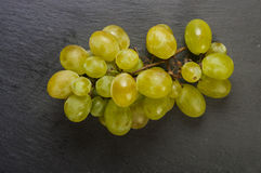 Lying grapes with black background Royalty Free Stock Photography