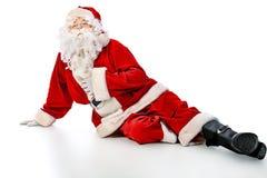 Lying santa Stock Photos
