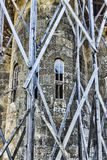 Lykhny. Abkhazia.A Fragment Of The Church Of The Assumption Of T Royalty Free Stock Images