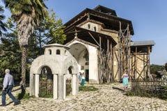 Lykhny Iglesia de la suposición de la Virgen María bendecida Abk Fotos de archivo