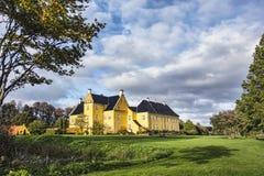 Lykkesholm castle on funen Stock Photo