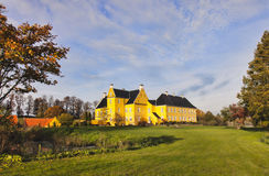 Lykkesholm castle on funen Royalty Free Stock Images